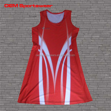 Women sportswear bodysuits sublimated netball dress
