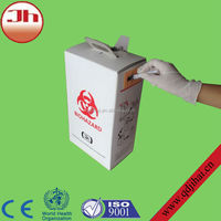 2014 cheap disconnect needles puncture resistant container/waste carton box for hospital