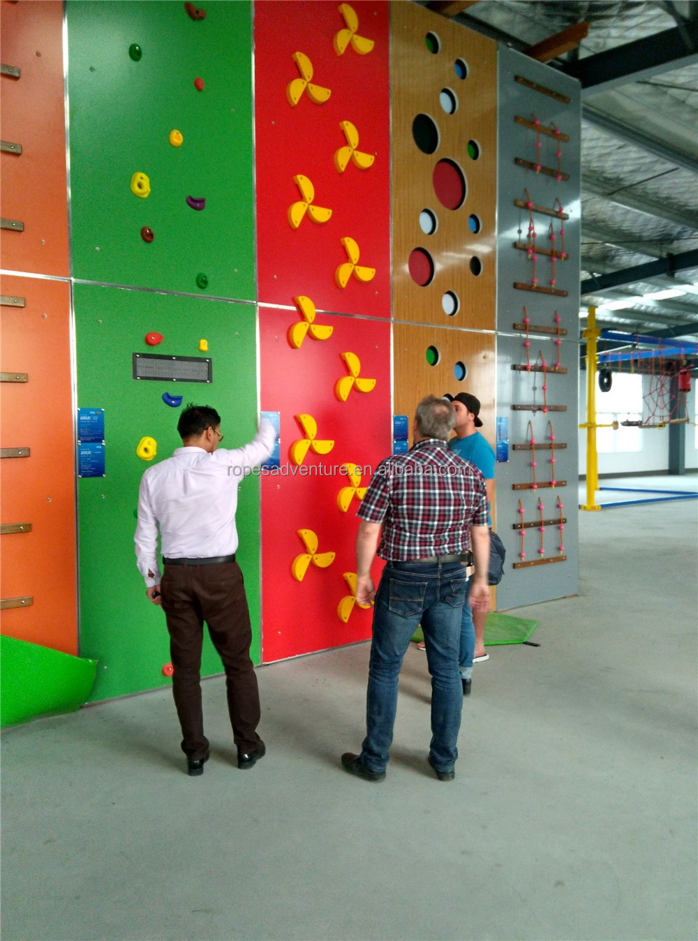 indoor playground kids climbing wall , climbing rock wall indoor