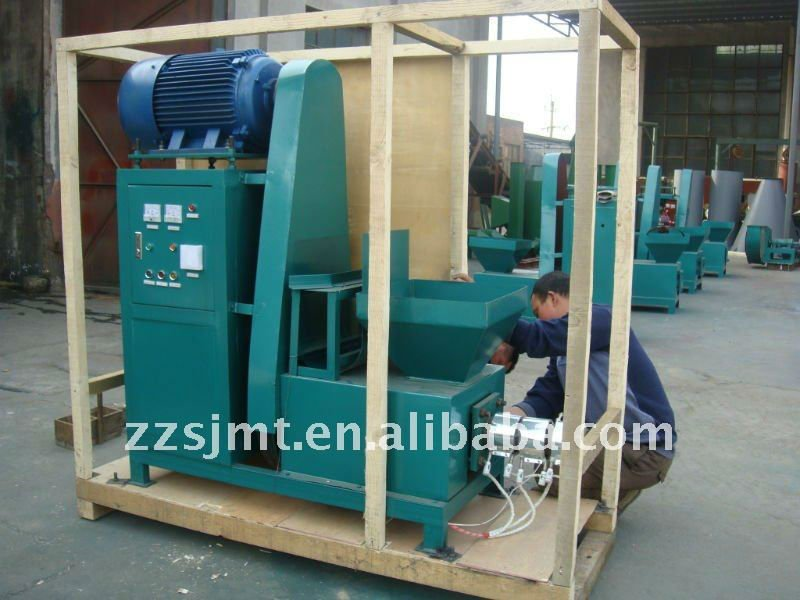 wood chips small briquette forming machine line price for sale in China
