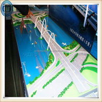 Exhibition model of commercial design proposal/ projec scheme model/ proposal design model for building