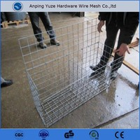 High quality stainless steel welded wire mesh/ welded rabbit cage wire mesh