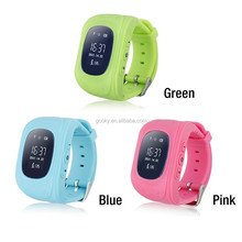 GPS Positioning SOS Alarm Remote Monitoring Smart Kids GPS tracker Watch Q50 for android &IOS