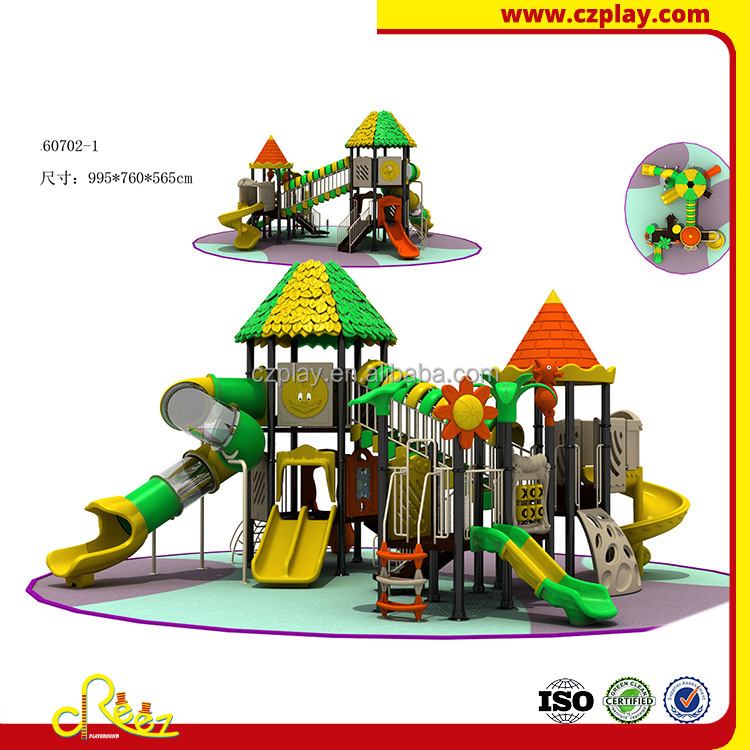 kids large outdoor playground amusement play center
