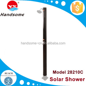 Top quality China manufacture sun energy pool equipment no foot solar shower