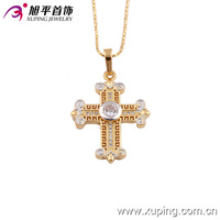 Xuping Jewelry New arrival cross necklace Fashion Accessories for women