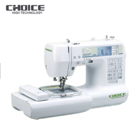 Golden choice GC980A multifunction home embroidery sewing machine for price