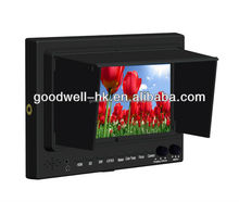 Professional IPS 1024x 600 1080p 7 Inch LCD Monitor with HDMI SDI Input