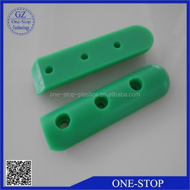 customized color pe machining parts wear resistant plastic part