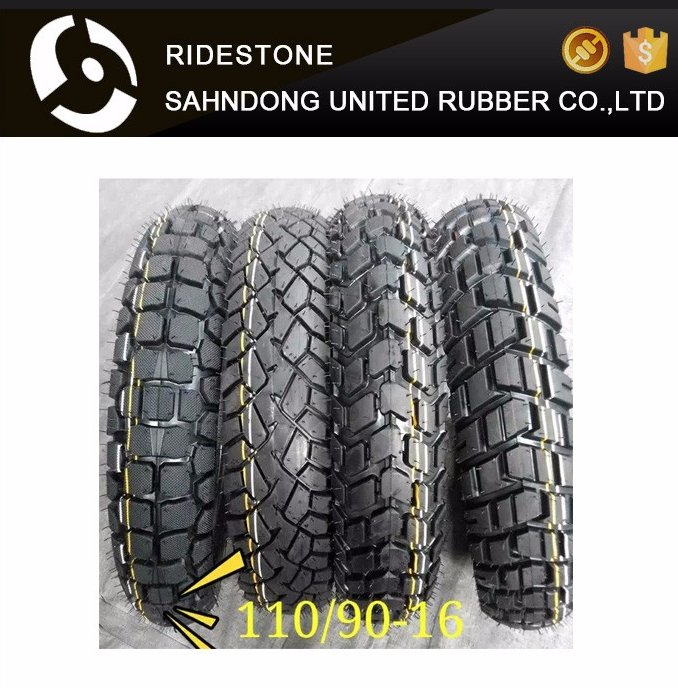 110/90-16 new pattern motorcycle tubeless tire