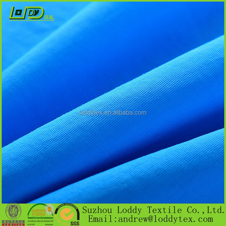waterproof and windproof fabric 100% nylon 228T dull taslan with quick dry function