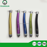 Surgical medical instrument part N S K PANA MAX type 2/4 holes push button portable dental colorful handpiece