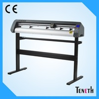 1200mm vinyl cutter plotter with automatic ocnotur cut Auto-flexi software laser optical eye cutting plotter