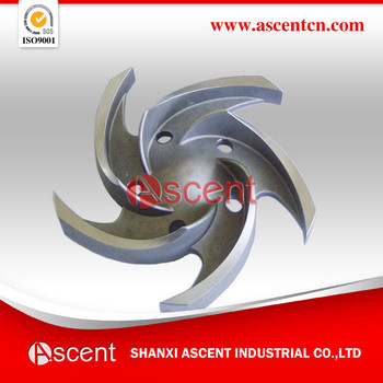 precision casting casting steel impeller