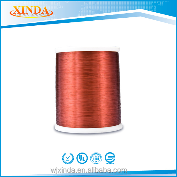 China Class 200 0.2mm EIW Enamelled Copper Wire Enameled Aluminum Round Insulated Wire