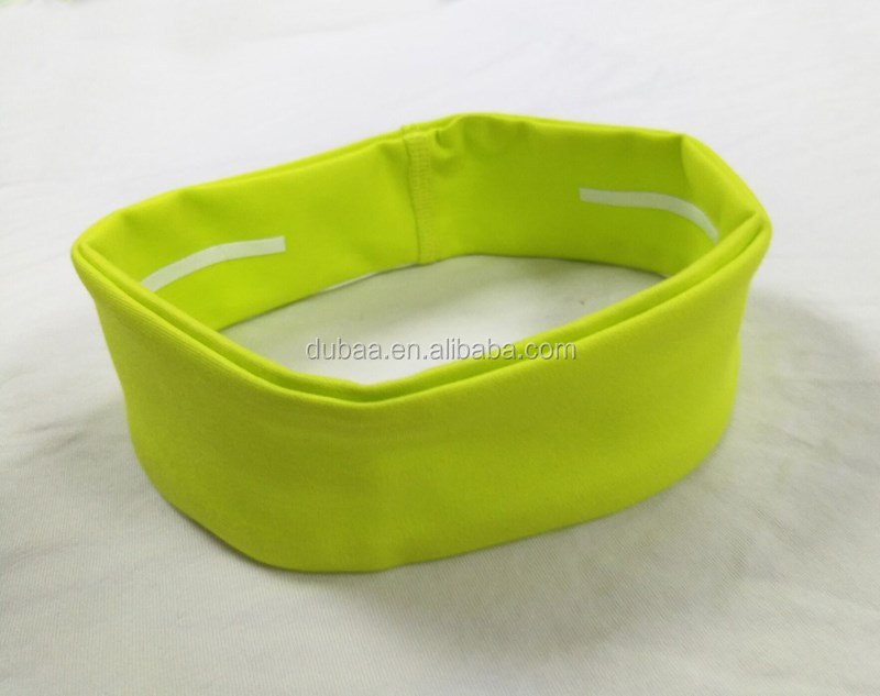 HIGH QULITY PLAIN WIDE JERSEY STRETCH BANDEAUX HEADBAND HAIR BAND SCHOOL GYM SPORT NON SLIP SOLID WIDE SWEATBAND
