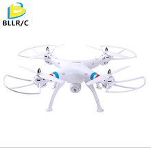 Headless Syma X8W 2.4Ghz 4CH RC drone with Wifi FPV Real Time 2MP HD Camera Quadcopter - WHITE