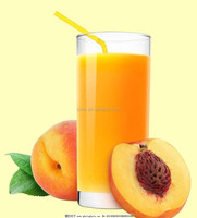 Natural yellow white peach liquid for beverage soft drinks concentrate juice foods