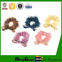 Hot Selling Fashion Decorative Girls Rabbit Ear Elastic Hair Band