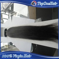 factory price top quality #1 jet black new fashion pre bonded u tips human hair extensions brazilian remy hair 1g/s