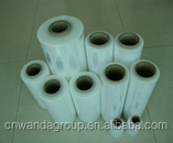 Hot sale bopp/pet/pof material film,transparent heating film,plastic pvc shrink film rolls with factory price