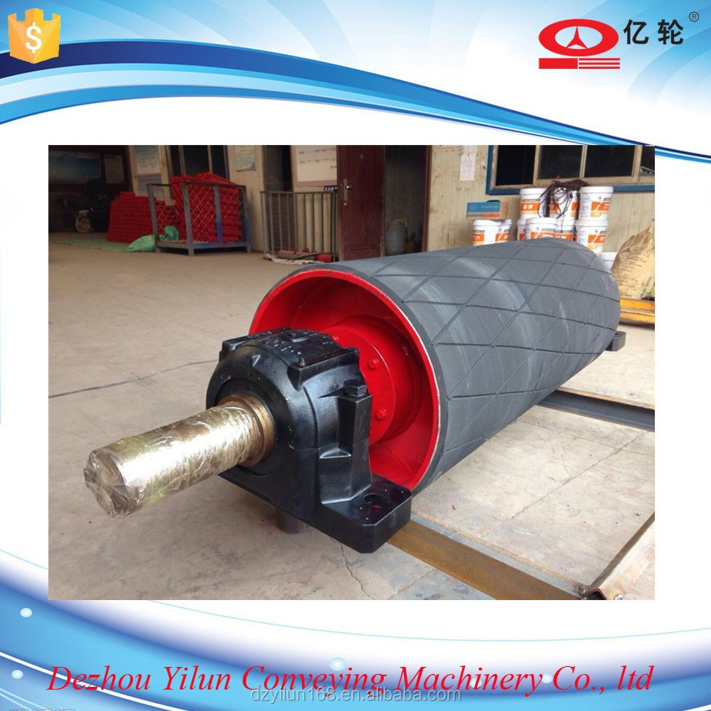 Motorized Pulley Belt Conveyor Pulley Electric Drum Drum Pulley V Belt Drive Pulley Poly Belt
