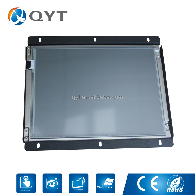 Economic and Efficient 10.4 inch 800*600 metal case touch screen displays with DVI Port