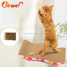 Guaranteed quality pet toys cat scratcher corrugated carpet cardboard