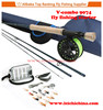 Wholesale 7wt fly fishing rod and reel combo