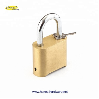 Brass combination padlock coded lock with bottom password
