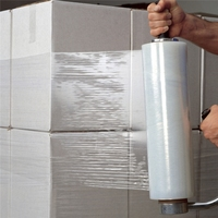 PE Wrap Stretch Film / Cast LLDPE Stretch Wrapping Film / Polyethylene Plastic