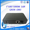 GPON Optical Network Unit Terminal 1GE,support NAT and PPPOE