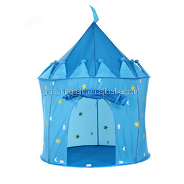 Blue Pop-up yurt Play Tent indoor and outdoor Kids play teepee