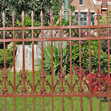 High security metal picket iron decorative aluminum fence panel
