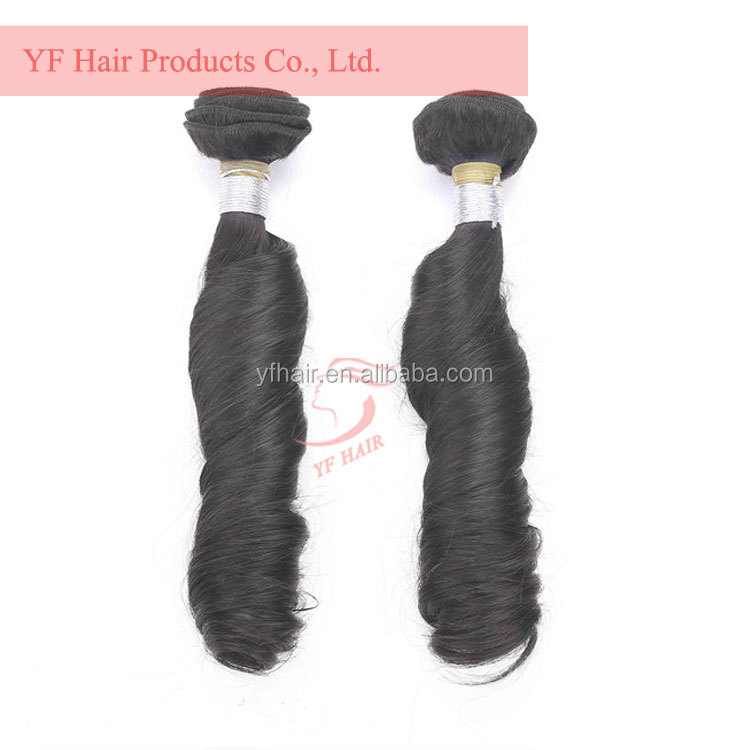 Chinese factory human hair bulks unprocessed machine double drawn weft, wholesale hair vendors human virgin hair extension