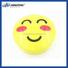 Facial expression design Portable Power Bank for Samsung galaxy note Rechargeable battery Charger