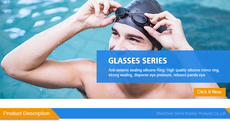 Silicone Glasses Electroplating Siamese Swimming Goggles