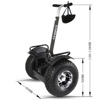 Samway Robot Electric chariot adult 2 wheel self balancing electric vehicle