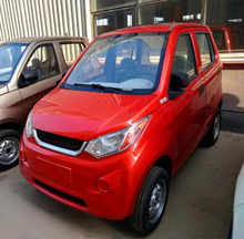 Solar adult 4 seater electric cars for sale without driving licence automobile A6