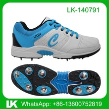 Mens Coloured Handmade Flexible Light Weight Spikes Golf Shoes Unique Style Metal Spikes Wholesale