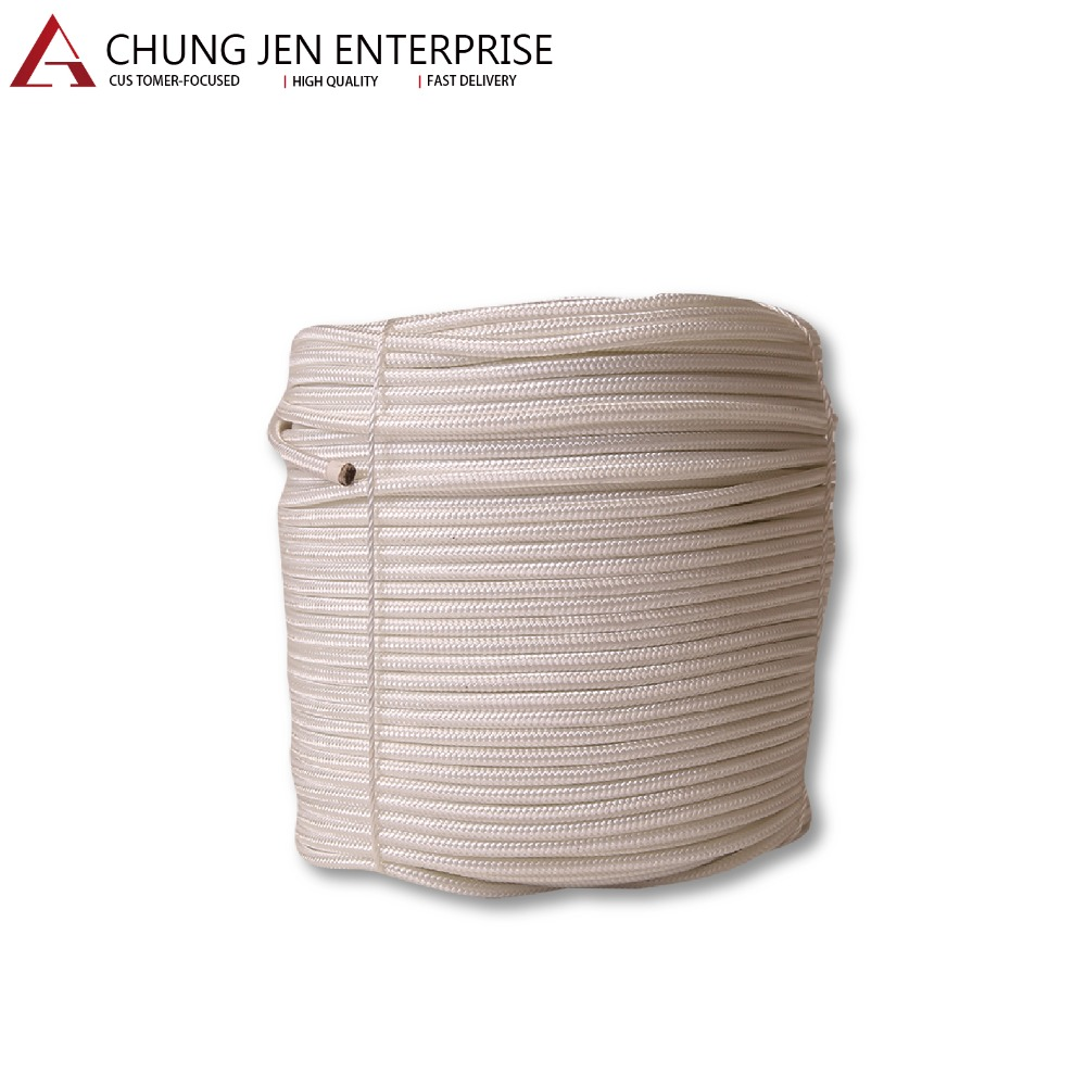 Best-selling Superior Quality 2mm to 16mm Nylon Braided Rope for sale OEM and ODM service