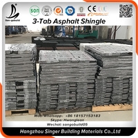 Cheap building materials factory direct China 3 way roof tiles black roof tiles for uganda market