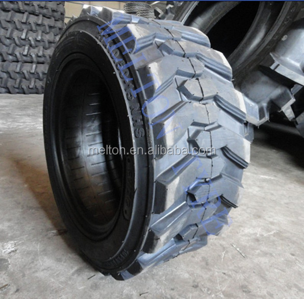 27x8.5-15 skid steer tire with rim