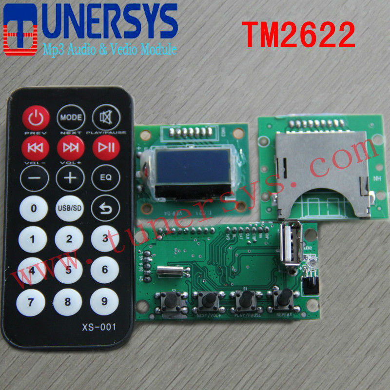 video 2 mp3 converter TM2622 mp3 sound module from Tunersys