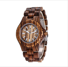 China Watch Manufacturer OEM Custom Design High-end Wooden Watch with Week