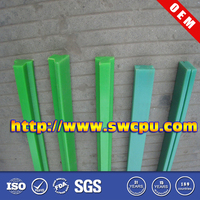 Custom T shape Nylon plastic guide rail