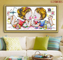 Little Kids Oil Painting Wall Decoration Modern Art Crystal Acrylic 5D DIY Diamond Painting