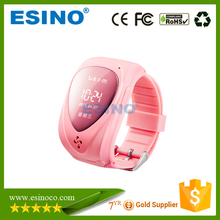 2015 gps tracking devices kids smart watch with SOS button