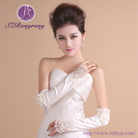 BG1521 newest noble and graceful Arm length bridal gloves for party