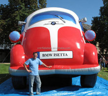 Hot sale inflatable advertising replica model/ inflatable car for trade show/mini car replica